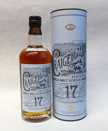 CRAIGELLACHIE 17 Years 46%Vol. 1x0,7L  - Single Speyside Malt in Geschenkpackung