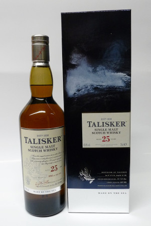 Talisker 25 Years Old - 45,8% Vol 1x0,7L Single Malt Scotch Whisky
