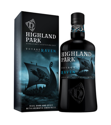 HIGHLAND PARK - VOYAGE OF THE RAVEN - Orkney Island Single Malt Whisky 41,3% 1x0,70L