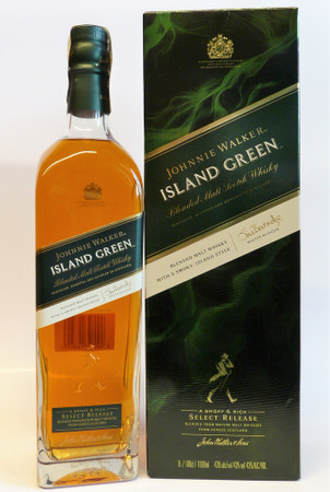 Johnnie Walker ISLAND GREEN - Blended Malt Whisky 43%Vol. 1x1,0L