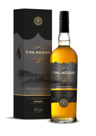 FINLAGGAN CASK STRENGTH - ISLAY SINGLE MALT SCOTCH WHISKY 1x0,7L 58% vol.