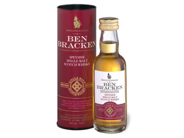 Ben Bracken MINIATUR SET - Single Malt Scotch Whisky 40% Vol. 3x 0,05L Islay/Highland/Speyside – Bild 3