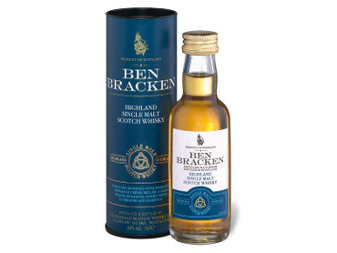 Ben Bracken MINIATUR SET - Single Malt Scotch Whisky 40% Vol. 3x 0,05L Islay/Highland/Speyside – Bild 4