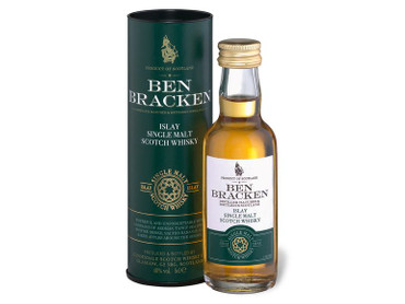 Ben Bracken MINIATUR SET - Single Malt Scotch Whisky 40% Vol. 3x 0,05L Islay/Highland/Speyside – Bild 5