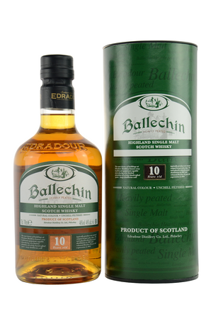 BALLECHIN (Edradour) 10 y.o. - Single Highland Malt Scotch Whisky 40%vol 1x0,7L