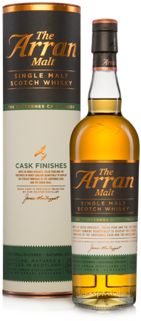 THE ARRAN - SAUTERNES CASK FINISH - 50% Vol 1x0,7L Single Malt Scotch Whisky