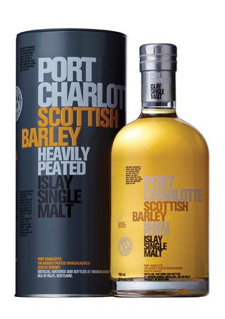 BRUICHLADDICH Port Charlotte Scottish Barley - Islay Single Malt Scotch Whisky 1x0,7L 50,0% vol heavily peated