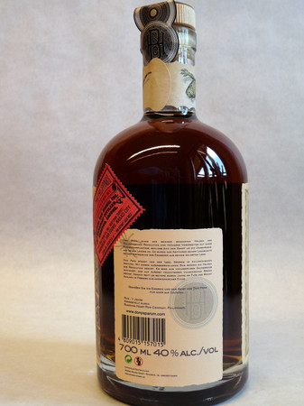 Rum DON PAPA 7 Jahre 40%vol 1x0,70L in GP / Tube – Bild 3