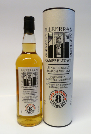 KILKERRAN 8y. CASK STRENGTH (Glengyle) - 55,7% Vol 1x0,7L  Campbeltown Single Malt Scotch Whisky