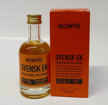 MACKMYRA SVENSK EK - Swedish Single Malt Whisky 46,1% 1x0,05L MINIATUR