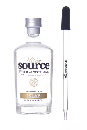 "UISGE SOURCE ""ISLAY"" Water of Scotland (for Whisky) 95ml + Glaspipette – Bild 1"