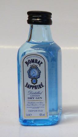 BOMBAY SAPPHIRE London Dry Gin - 1x0,05L 42% vol. Miniatur