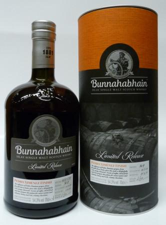 BUNNAHABHAIN PEDRO XIMENEZ FINISH - Islay Single Malt Scotch Whisky 1x0,7L 54,3% vol