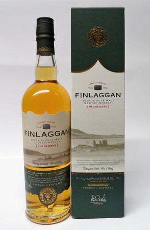 FINLAGGAN OLD RESERVE - ISLAY SINGLE MALT SCOTCH WHISKY 1x0,7L 40% vol.