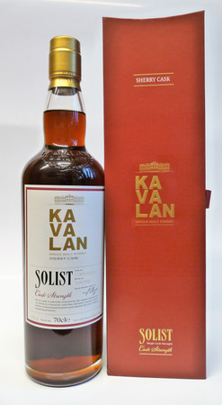 KAVALAN SOLIST Sherry Cask - Single Malt Whisky Taiwan 58,6%vol. 1x0,70L