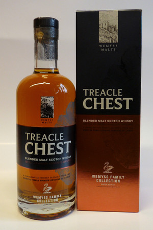 WEMYSS MALTS - TREACLE CHEST - Family Collection - BLENDED MALT SCOTCH WHISKY 1x0,7L 46% vol.