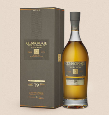 GLENMORANGIE 19 YEARS OLD - Single Highland Malt Scotch Whisky 43%vol 1x0,70L