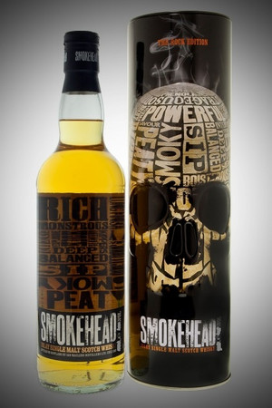 SMOKEHEAD ROCK EDITION I - ISLAY SINGLE MALT WHISKY 1x1,0L 44,2% vol.
