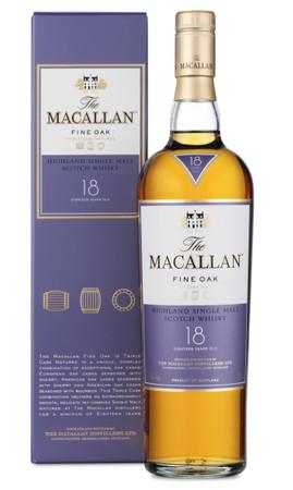 THE MACALLAN Fine Oak 18 Years - Single Speyside Malt Whisky 43% 1x0,70L – Bild 1