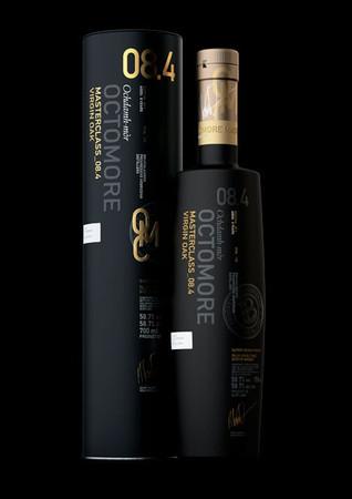 BRUICHLADDICH OCTOMORE EDITION: 08.4 VIRGIN OAK - Islay Single Malt 1x0,7L 58,7% vol PPM 170