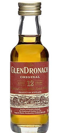 GLENDRONACH 12 Jahre MINIATUR - Highland Single Malt Scotch Whisky 43% 1x0,05L