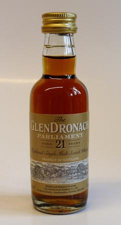 GLENDRONACH 21 Jahre Parliament MINIATUR - Single Malt Scotch Whisky 48% 1x0,05L