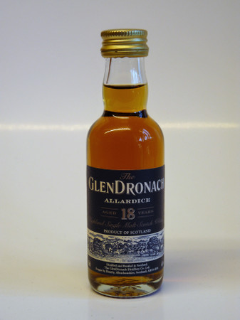 GLENDRONACH 18 Jahre MINIATUR - ALLARDICE Single Malt Scotch Whisky 46% 1x0,05L