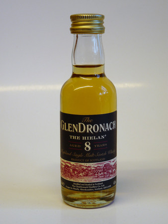 GLENDRONACH 8 Jahre HIELAN MINIATUR - Highland Single Malt Scotch Whisky 46% 1x0,05L