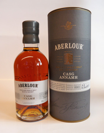 ABERLOUR CASG ANNAMH Small Batch No.0001 -  SINGLE MALT SCOTCH WHISKY 1x0,7L 48% vol.