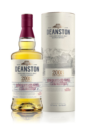 Deanston 2008 BORDEAUX RED WINE CASK MATURED - Single Malt 1x0,7L 58,7% vol