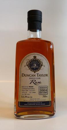 Duncan Taylor Single Cask Rum/Ron - PANAMA A Private Estate Distillery 2004/2017 53,3%vol. 1x0,7L