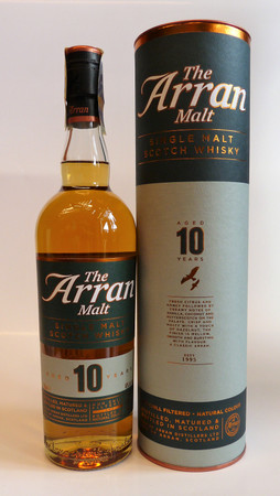 THE ARRAN - 10 Years Old - 46% Vol 1x0,7L Single Malt Scotch Whisky