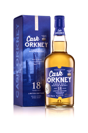 A.D.Rattray - CASK ORKNEY 18 J. - SINGLE MALT WHISKY (HIGHLAND PARK ?) 1x0,7L 46% vol.