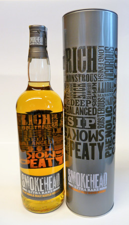 SMOKEHEAD EXTRA RARE - ISLAY SINGLE MALT WHISKY 1x1,0L 40% vol.