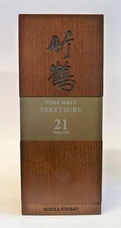 NIKKA PURE MALT TAKETSURU 21 Years - 43%vol 1x0,70L - Japan Blended Malt Whisky – Bild 2