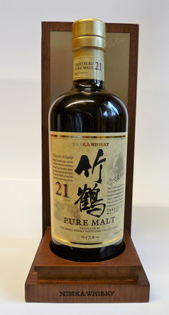 NIKKA PURE MALT TAKETSURU 21 Years - 43%vol 1x0,70L - Japan Blended Malt Whisky – Bild 1