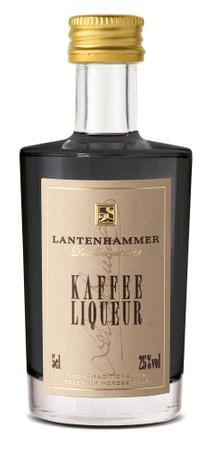 Lantenhammer KAFFEE LIQUEUR - Bavarian Likör 25% 1x0,05L Miniatur