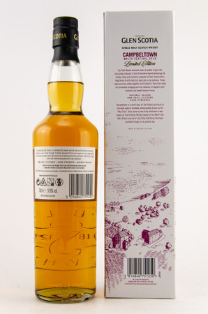 GLEN SCOTIA 2008 VINTAGE - Campbeltown Malts Festival 2018 1x0,7L 57,8%vol. – Bild 2