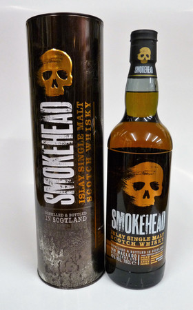 SMOKEHEAD PEATED 2018 NEW RELEASE - ISLAY SINGLE MALT WHISKY 1x0,7L 43% vol.