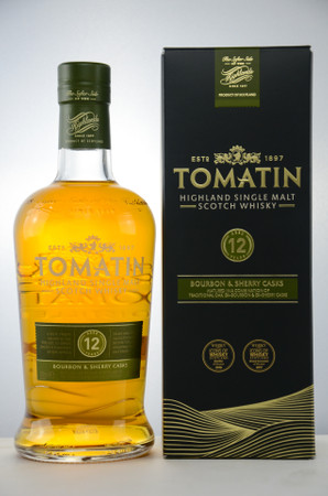 TOMATIN 12 years old - Highland Single Malt Whisky 43%vol 1x0,7L – Bild 1