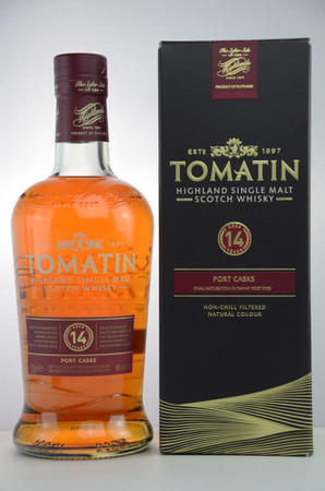 TOMATIN 14 years old - Highland Single Malt Whisky 46%vol 1x0,7L