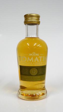 TOMATIN 12 years old - Highland Single Malt Whisky 43%vol 1x0,05L MINIATUR
