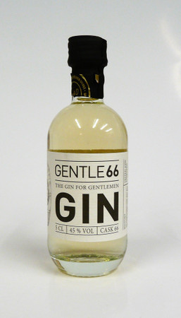 GENTLE 66 - Gin for Gentlemen im Grand Manier Fass gereift - 45% Vol 1x0,05L MINIATUR