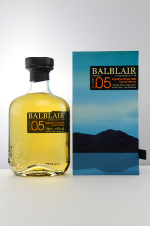 BALBLAIR VINTAGE 2005/2017 1st Release - Highland Single Malt Whisky 46% 1x0,7L – Bild 1