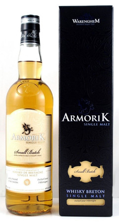 "ARMORIK ""LIGHTLY PEATED"" Small Batch for Germany - Breton Single Malt Whisky 48% 1x0,70L"