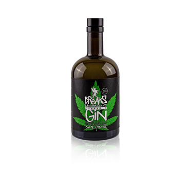 BREAKS CANABIS GIN - 1x0,50L 42%vol. Handcrafted in Germany