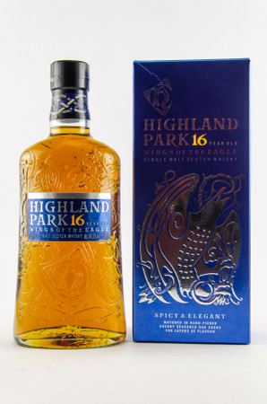 HIGHLAND PARK 16 y.o. - WINGS OF THE EAGLE  - 44,5% 1x0,70L Orkney Single Malt Whisky – Bild 1