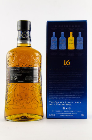 HIGHLAND PARK 16 y.o. - WINGS OF THE EAGLE  - 44,5% 1x0,70L Orkney Single Malt Whisky – Bild 2