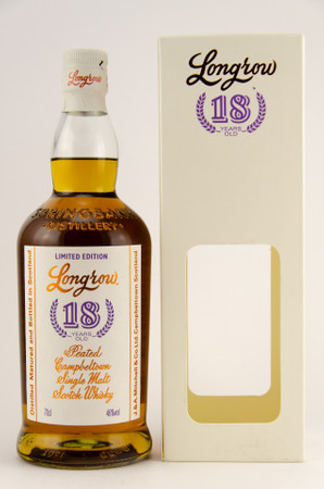 LONGROW 18y.o. 2018 (Springbank) - 46% Vol 1x0,7L  Campbeltown Single Malt Whisky – Bild 1