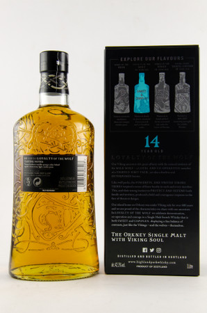HIGHLAND PARK 14 y.o. - LOYALTY OF THE WOLF - 42,3% 1x1,0L sweet & complex – Bild 2